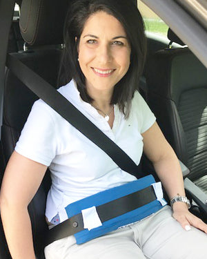 QualiPad - Seatbelt protection pad