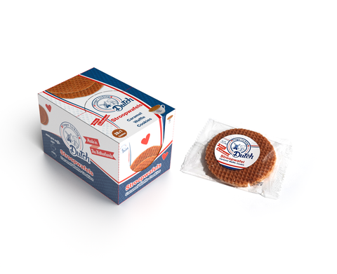 Caramel Stroopwafels, On-The-Go Pack (28 Singles)