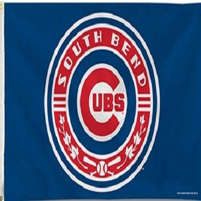 South Bend Cubs 3 x 5 Flag