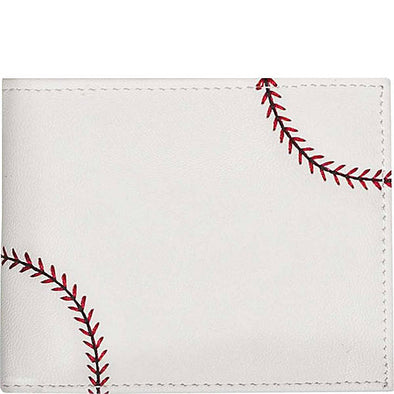 South Bend Cubs Men's Baseball Leather Wallet