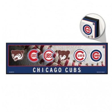 Chicago Cubs Cooperstown Wood Sign