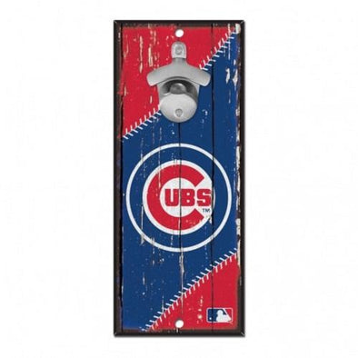 Chicago Cubs Bottle Opener Wall Mounted
