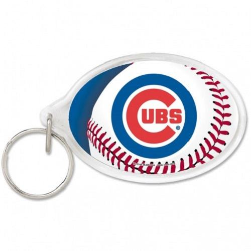 Chicago Cubs Key Ring