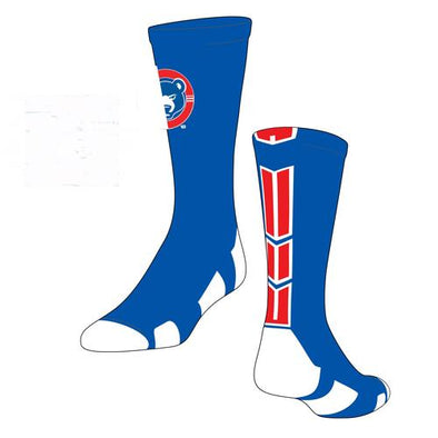 South Bend Cubs Socks Baseline