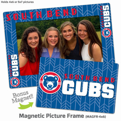 South Bend Cubs Magnetic Picture Frame