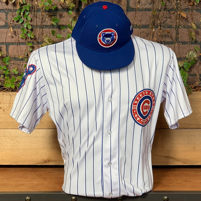 South Bend Cubs Authentic Home Pinstripe Jersey