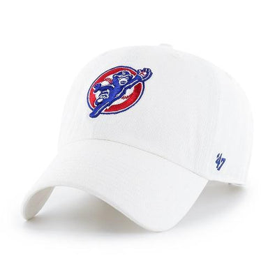 47 Brand South Bend Cubs Catching Cub Cap White