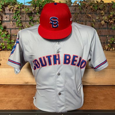 South Bend Cubs Authentic Road Jersey