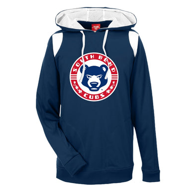 South Bend Cubs Men's Performance Hooded Sweatshirt