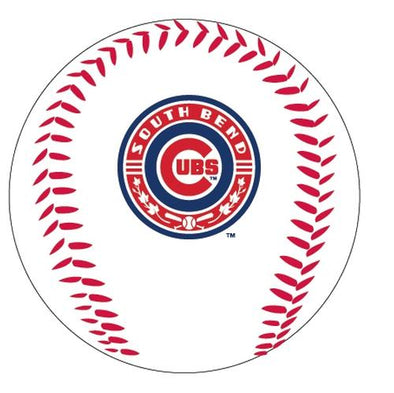 South Bend Cubs Logo Ball Primary Logo