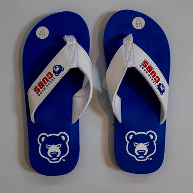 South Bend Cubs Flip Flops