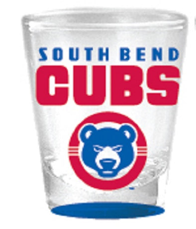 South Bend Cubs Shot Glass