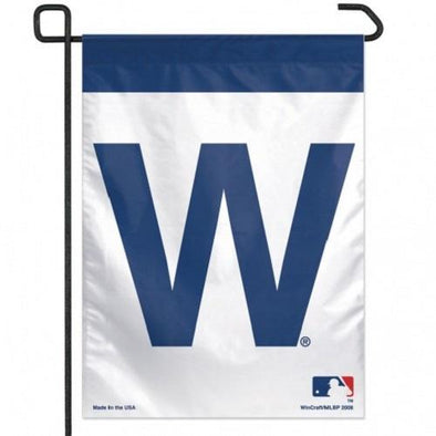 Chicago Cubs W Flag Garden Flag