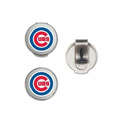 Chicago Cubs Golfer's Hat Clip 2 Pk