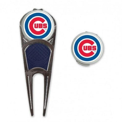 Chicago Cubs Golf Mark/Tool/H Clip Combo