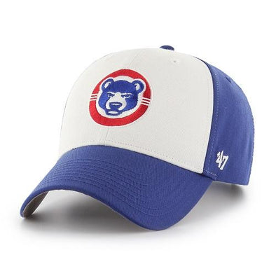 47 Brand South Bend Cubs MVP Royal/White Adjustable Cap