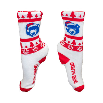 South Bend Cubs Socks Christmas