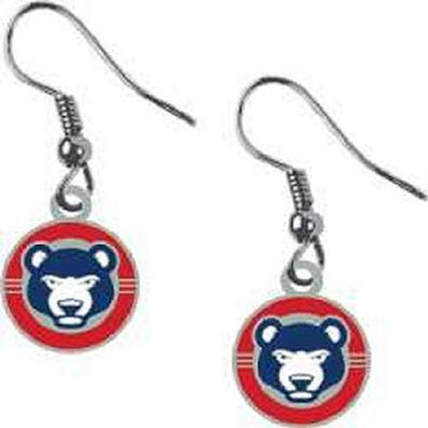South Bend Cubs Earrings Cub Circle