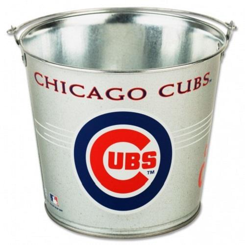 Chicago Cubs Galvanized Pail