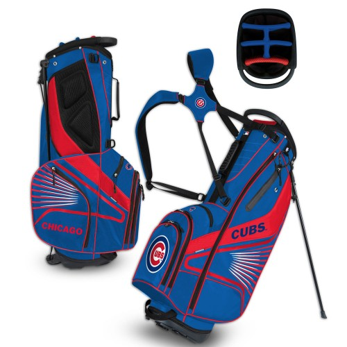 Chicago Cubs Golf Bag -  Grid Iron III Stand Bag