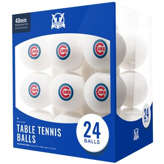 Chicago Cubs Table Tennis Balls  24pk.