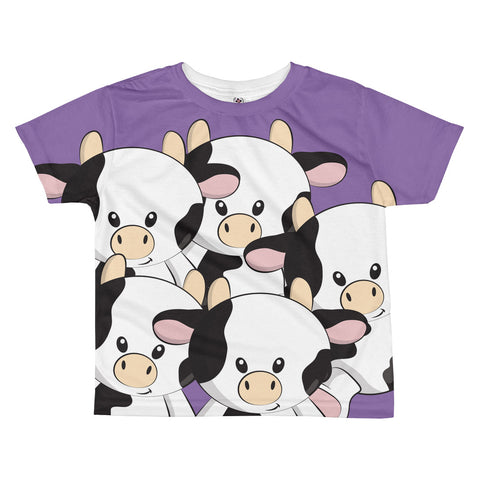 The Not Purple Cow All-over kids sublimation T-shirt