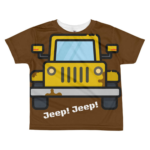 Jeep! Jeep! All-over kids sublimation T-shirt