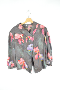 vintage floral blouse for women