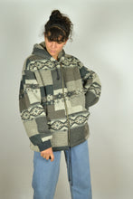Load image into Gallery viewer, Hoodie Zipper Winter Jacket Medium M L