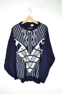 Abstract Patterns Unisex Sweater M/L