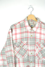 Load image into Gallery viewer, FJALLRAVEN 90s Plaid Men Shirt XL