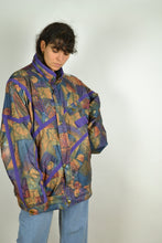 Load image into Gallery viewer, 90s Colorful Parka Jacket Oversized XL XXL