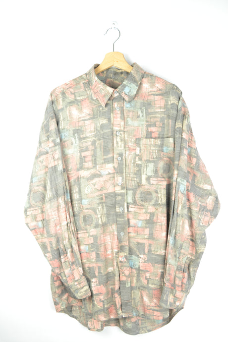 Abstract patterned Men Shirt