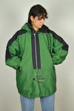 Load image into Gallery viewer, Vintage 90s - Snowboard Green Half Zip Jacket - Size XL