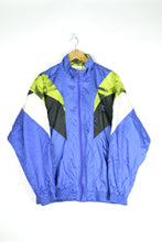 Load image into Gallery viewer, Adidas Shell Jacket Vintage 80s Neon Purple Medium M