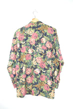 Load image into Gallery viewer, 70s Flower patterned Long Sleeved Shirt L