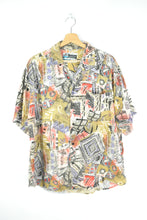 Load image into Gallery viewer, Abstract patterns Unisex Sumer shirt L