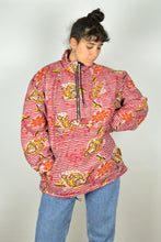 Load image into Gallery viewer, 90s Half Zip Winter Jacket Large L