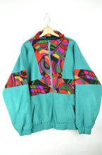 Load image into Gallery viewer, 80s Oversized Fleece Jacket XL XXL