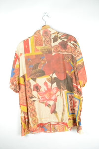 Baroque Printed Blouse Large L XL