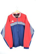 Load image into Gallery viewer, Adidas Track Jacket Blue/Red XL