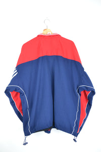 Adidas Track Jacket Blue/Red XL