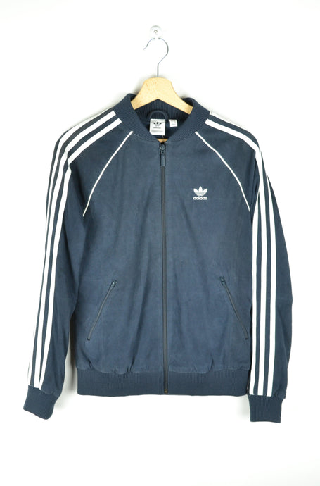 New with Tag - Adidas Suede Zip Jacket - Size S