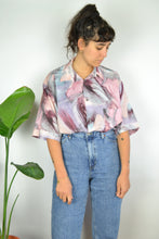 Load image into Gallery viewer, Pastel marble Print Oversized Summer shirt XL