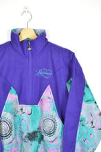 Load image into Gallery viewer, Vintage 80s - Purple Retro Fleece - Size S/M