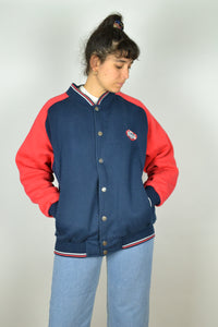 LONSDALE Vintage Teddy Jacket Large L