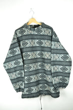 Load image into Gallery viewer, Vintage 90s - Oversized Patterned Fleece - Size XL
