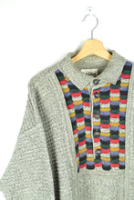 Load image into Gallery viewer, Vintage 80s - Carlo Colucci Grey Sweater - Size L