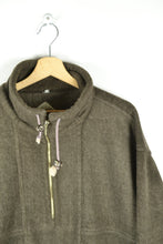 Load image into Gallery viewer, Vintage 90s - Brown Half Zip fleece - Size XL/XXL