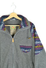 Load image into Gallery viewer, 90s Fjallraven Fleece Sweater Jacket Large L XL